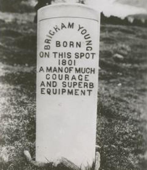 Brigham Young marker