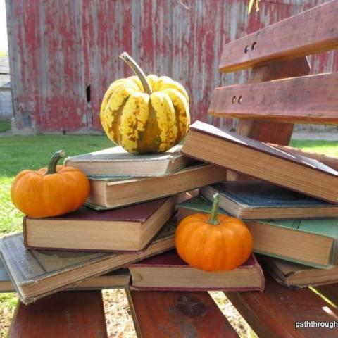 Whitingham Library Fall Facebook Photo